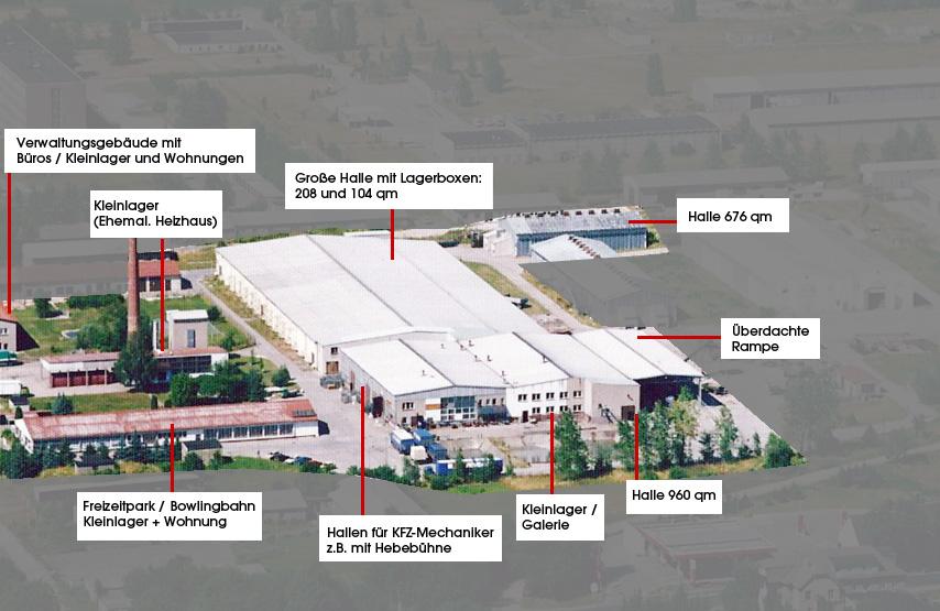 Lagerraum / Lagerhallen mieten in Müncheberg